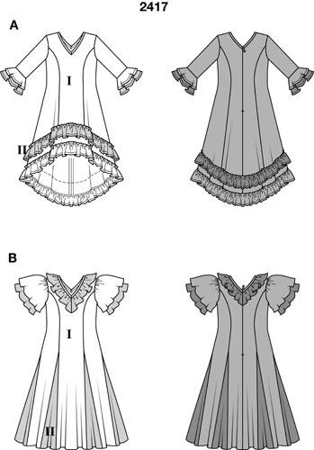 Платья и выкройки 2015 года