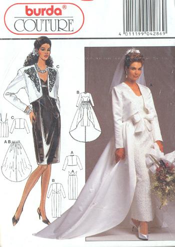 Wedding Saloon :: Выкройка свадебного платья из Бурды - Свадебные