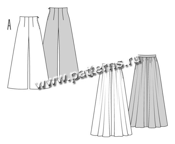 длинные юбки выкройки бурда #5. длинные юбки выкройки бурда #6