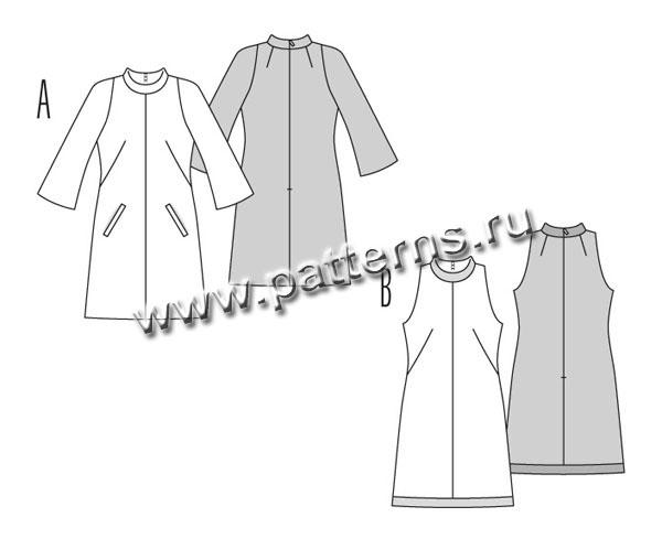 Выкройки платьев стиль 60-х