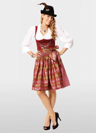 Костюм баварский женский купить