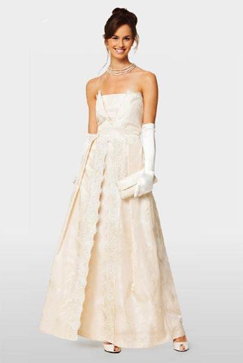 Выкройка свадебных платьев бурда