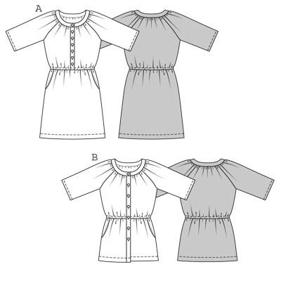 Выкройки платьев, юбок, схемы