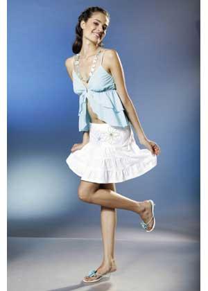 выкройки молодёжных модных юбок: