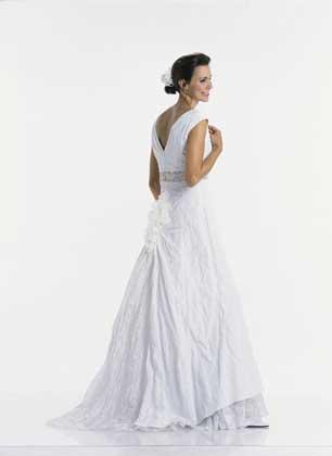 Выкройка свадебного платья из Бурды