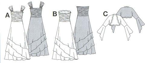 Японские журналы с выкройками свадебных платьев