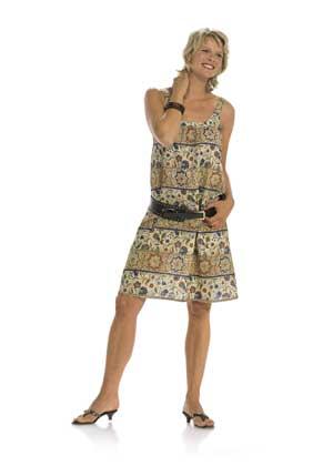 Выкройки летних платьев Бурда, примеры из журнала