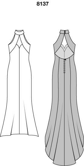8137 — Вечернее платье