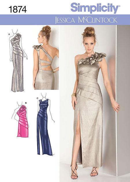 Будь модной! Шьем сами платья вечерние. Модная одежда