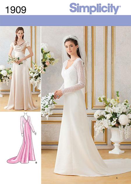 Wedding Saloon :: Выкройки свадебных платьев - Свадебные платья и