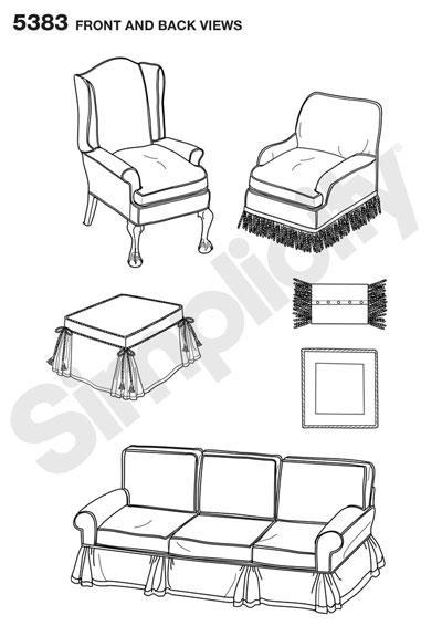Чехлы для дивана, кресла,