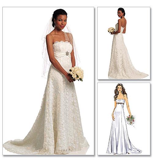 Свадебные платья и выкройки
