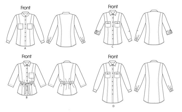 Начнём с выкройки мужской классической рубашки.Выкройка женской рубашки строится на основе выкройки женского халата