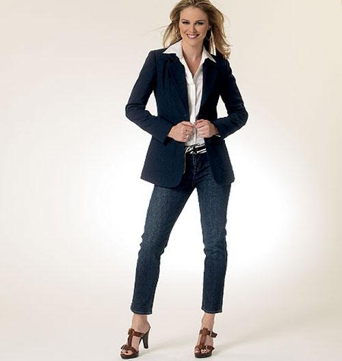 Пиджак джинсы не модно
