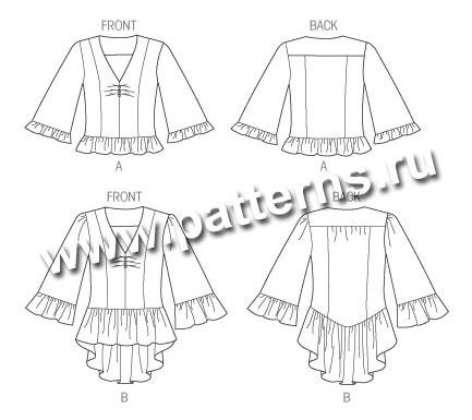 Платье с баской своими руками