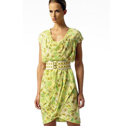 летнее платье, выкройка