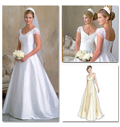 Wedding Saloon :: Выкройка свадебное платье самой - Свадебные