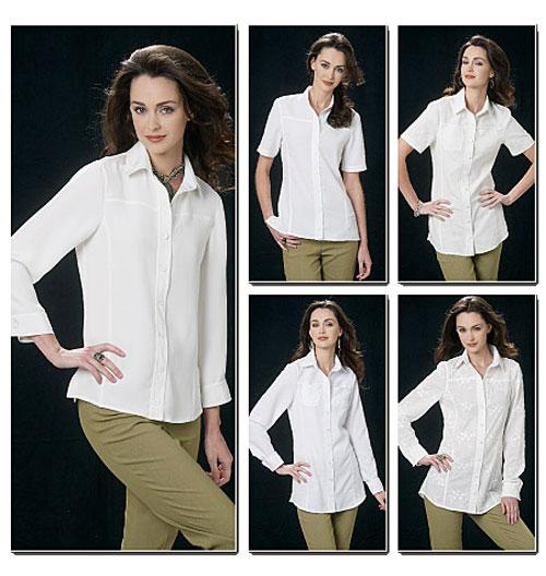 Выкройки рубашек женских для начинающих