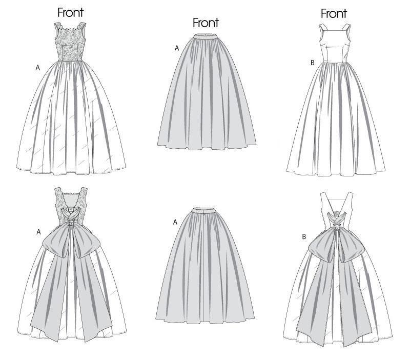 свадебное платье - V8729