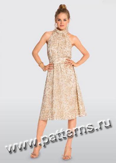 Бурда с выкройками нарядное платье