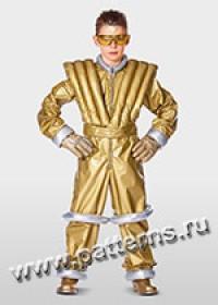 """Выкройка Burda (Бурда) 2379 — Карнавальный костюм """"Астронавт"""""""