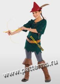 Выкройка Burda (Бурда) 2392 — Марианна, сестра Робин Гуда, или Рози, альпийская крестьянка (снята с производства)