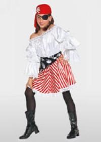 Выкройка Burda (Бурда) 2400 — Подружка ковбоя, Подружка пирата, Колдунья (снята с производства)
