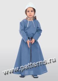 Выкройка Burda (Бурда) 9473 — Историческое платье