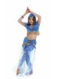 Выкройка Burda (Бурда) 2439 — Восточный танец, индийский (снята с производства)