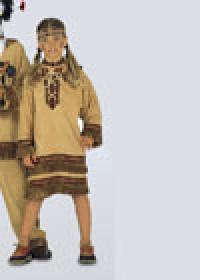 Выкройка Burda (Бурда) 5812 — Индейский костюм