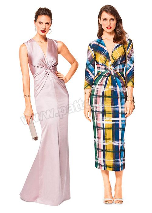 Выкройка Burda (Бурда) 6442 — Вечернее платье с драпировкой   Купить ... c03b3addee6