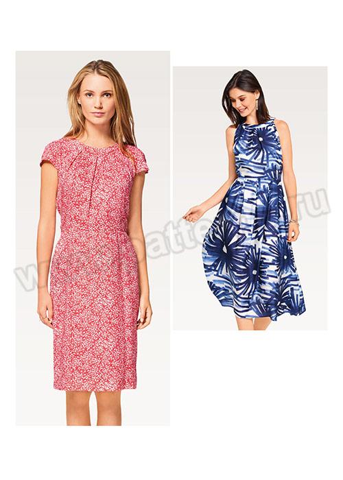 139479f83cf4f53 Выкройка Burda (Бурда) 6521 — Платье   Купить с доставкой по России ...