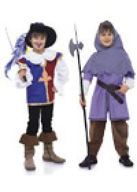 Выкройка Burda (Бурда) 9659 — Мушкетер, рыцарь