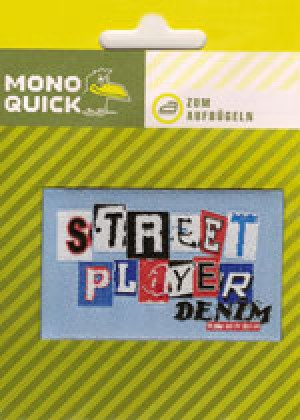 Термоаппликация Mono Quick (06023) – Street Player