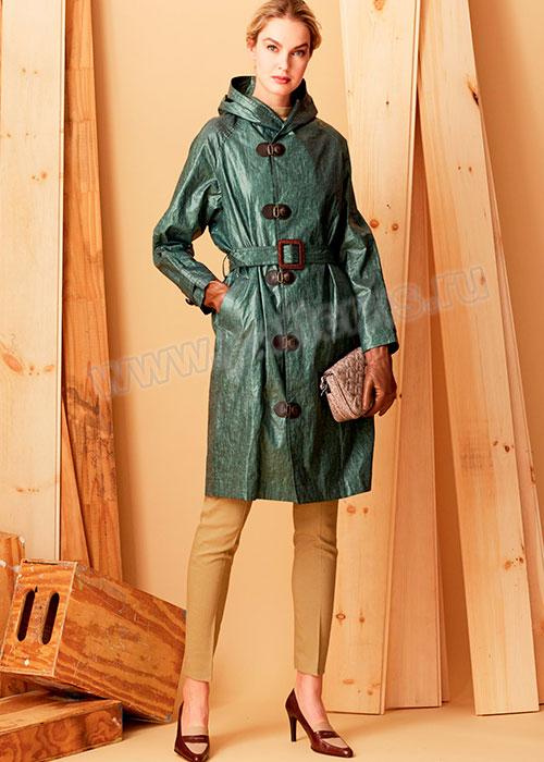 Выкройка Vogue — Плащ с капюшоном - V1564   Купить с доставкой по ... 81cc9c95386