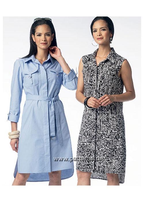 Платье сафари журнал бурда